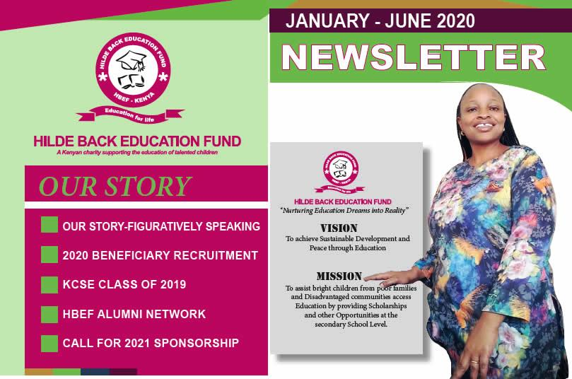 Sharing our January to June 2020 Newsletter